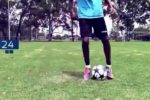 サッカー個人練習 足元の練習 超絶技巧になれちゃう