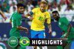Brazil vs Saudi Arabia 2018/10/1